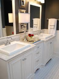 Custom Bathroom Cabinets Bathroom Two Sink Vanities Black Cabinets Bathroom Custom