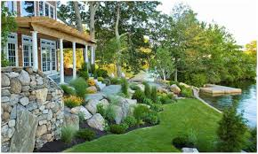 backyards ergonomic landscape design ideas sloped backyard