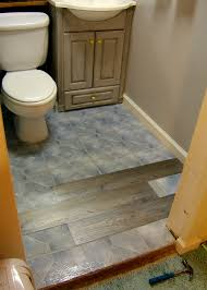 Wood Floors In Bathroom by Nine Red Downstairs Bathroom Flooring