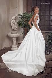 style u0027s name arnolda atlas wedding dress with v back and half