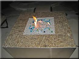 Granite Fire Pit by Fire Tables