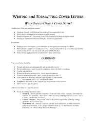 job application cover letter rules