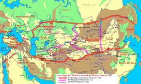 Mongol Empire Map Mongolia From 1368 To 1691 Horseback Mongolia