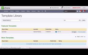 how to use our template library free ipad ehr drchrono youtube