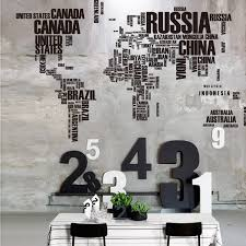 World Map Wall Decor by Online Get Cheap Wall Decor Letters Aliexpress Com Alibaba Group