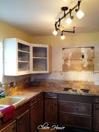 Diy Kitchen Cabinets Makeover White Distressed Cabinets Diy Home Rennovation Pinterest