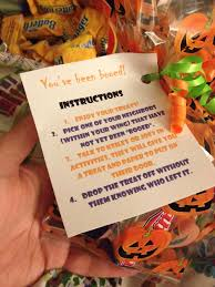 Halloween Homemade Gifts by Halloween Boo Gifts For My Residents To Give To One Another