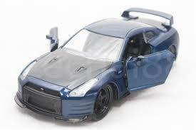nissan gtr in malaysia jada fast u0026 furious 1 32 diecast brian s nissan gt r r35 car blue