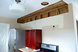 Remove Kitchen Cabinet Soffits Be Gone