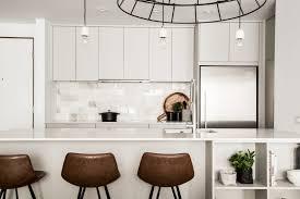 flat white wood kitchen cabinets kitchen cabinet profiles hibou design co