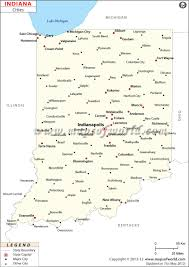 Map Of Usa And Cities by Cities In Indiana Map Of Indiana Cities