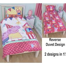 Peppa Pig Toddler Duvet Cover Peppa Pig Duvet And Curtain Set Centerfordemocracy Org