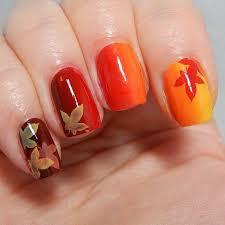 trending thanksgiving nail ideas for 2017