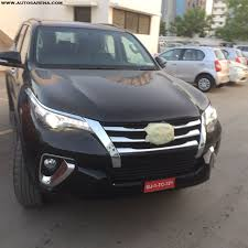 fortuner new generation toyota fortuner spotted at a dealership many