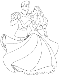 princess aurora coloring page princess aurora briar rose disney