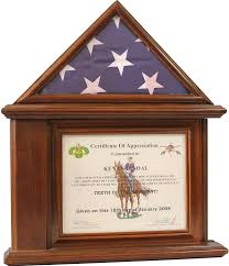 Fold Flag Military Style Amazon Com Decomil Flag Display Case With Certificate U0026 Document