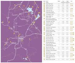 Map Of Prescott Arizona by Prescott Hiking Map Prescott Living Magazine