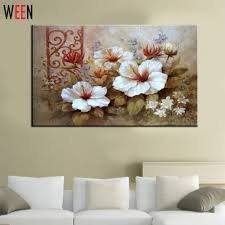 aliexpress com buy flower painting coloring by numbers diy