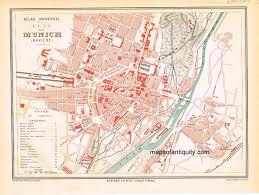 Map Of Munich Germany by Plan De Munich Antique Maps And Charts U2013 Original Vintage Rare