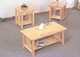 mission style coffee table light oak light wood coffee table sets healthcareoasis