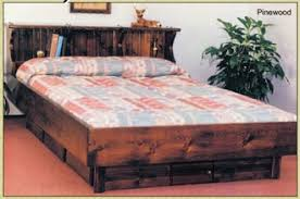 Solid Pine Bed Frame Waterbed Side Frame Waterbed Base Free Shipping From