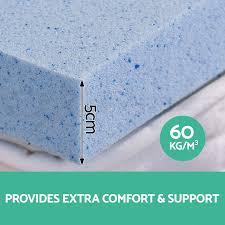Bamboo Memory Foam Mattress Topper Cool Gel Memory Foam Mattress Topper Bamboo Fabric Cover Home Bed