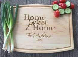 cutting board realtor closing gift home sweet home cutting