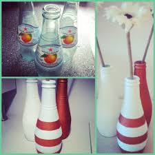 Vase Made From Plastic Bottle San Pellegrino Bottles Made Into Vases Diy Creative