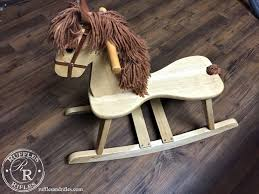 Rocking Chair For 1 Year Old Wooden Rocking Horse