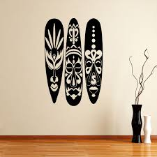 african masks wall sticker world of wall stickers