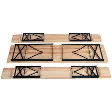 Garden Table Amazon Com Giantex 3 Pcs Beer Table Bench Set Folding Wooden Top
