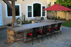 outdoor kitchen islands san diego landscaper outdoor design build bbq island