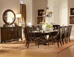 homelegance orleans trestle dining set cherry d2168 108 din set