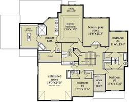 2 story house floor plans two story colonial house plan