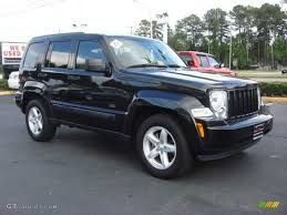 black jeep liberty with black rims brilliant black crystal pearl 2009 jeep liberty rocky mountain