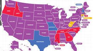 Map Of The United States With States Labeled by Google U0027s Map Of America U0027s Most Misspelled Words Is Horrifying Si Com