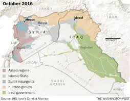 Iraq Map World by The History Of Mosul In Five Maps The Washington Post