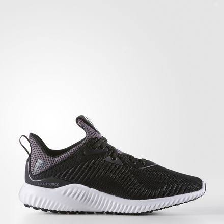 Adidas Alphabounce J Black/White BB7095 Grade-School, 5.5