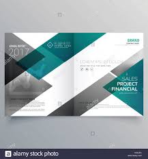 financial report cover page creative booklet cover page deisgn template with geometric shapes