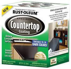 rust oleum specialty dark base countertop coating kit at menards