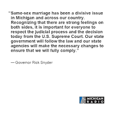 wedding quotes country reactions to supreme court same marriage ruling michigan radio