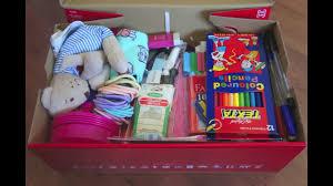 operation christmas child shoebox 10 14 youtube