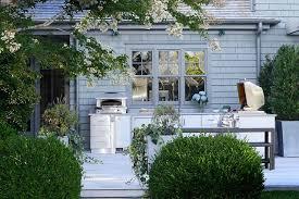 outdoor kitchen design decor ideas photos architectural digest