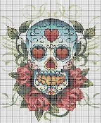 the 25 best cross stitch skull ideas on knitting