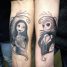 before christmas tattoo nightmare before christmas and jack and