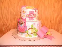 tinas paisley owl baby shower cake with bow cakecentral com