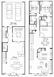 house plan for narrow lot house plan new 5 bedroom house plans narrow lot 5 bedroom house