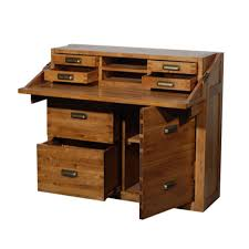 Home Office Desk Oak by Montana Office Chest Halo Living