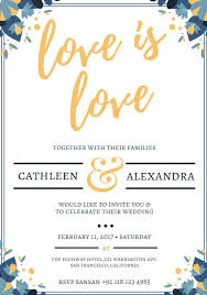Marriage Invitation Sample 523 Free Wedding Invitation Templates You Can Customize