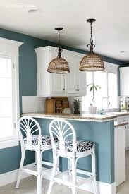 blue kitchen paint ideas hi city farmhouse friends it s emily from the wicker house